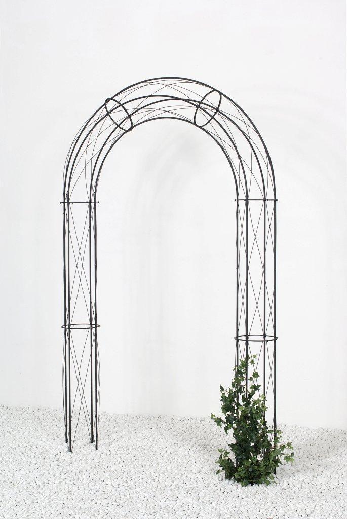 rosenbogen stella laubengang rankhilfe pergola metall. Black Bedroom Furniture Sets. Home Design Ideas