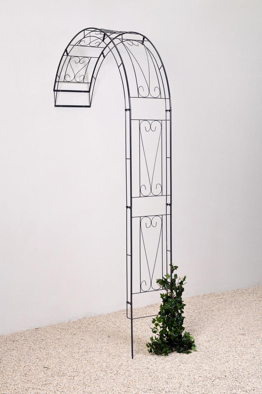 wandrosenbogen laubengang rankhilfe baccara metall. Black Bedroom Furniture Sets. Home Design Ideas