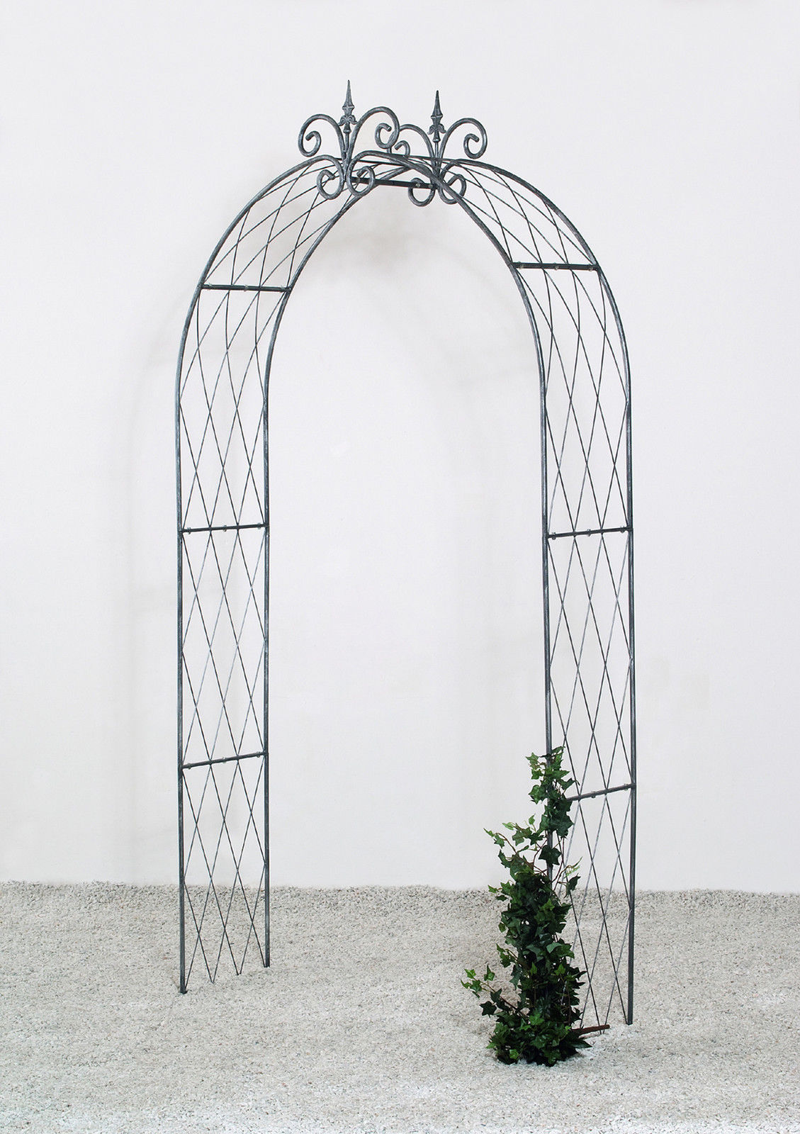 rosenbogen laubengang rankhilfe pergola leska metall. Black Bedroom Furniture Sets. Home Design Ideas