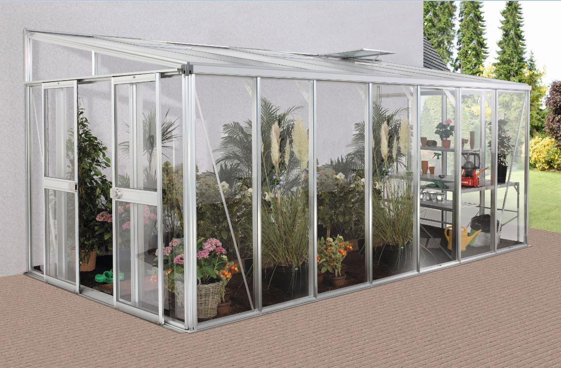 vitavia anlehngew chshaus helena 4 gr en hybrid glas. Black Bedroom Furniture Sets. Home Design Ideas