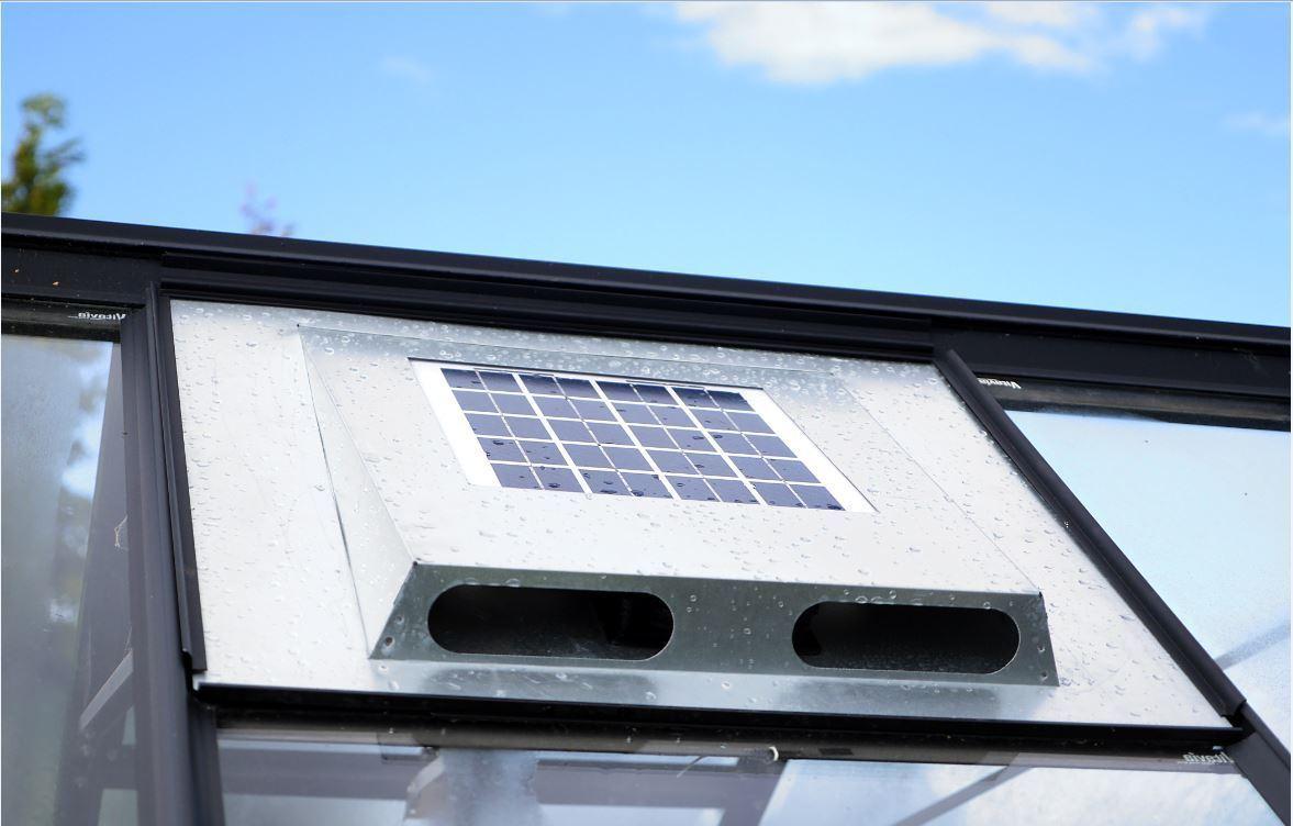 Solarventilator Solarfan  60x54,4 cm für Vitavia und andere Gewächshäuser