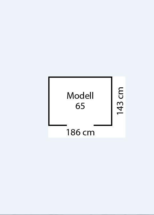 Arrow Metall - Gerätehaus Köln 65, 2,66qm, Tanne/Creme