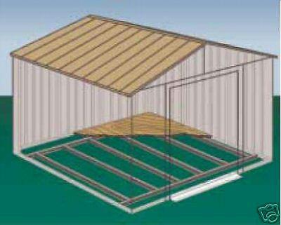 Bodenrahmen für Metall Gerätehäuser Modelle 1012 u. 1014