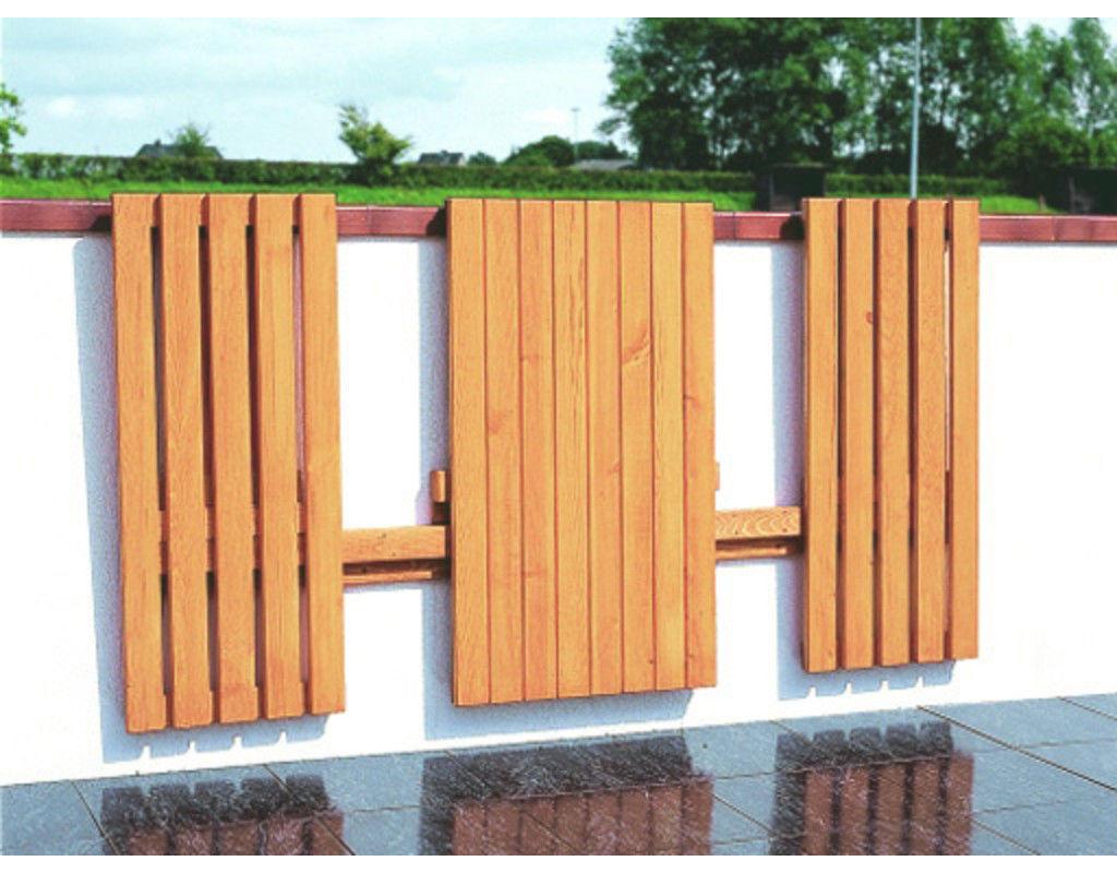 Balkonklappgarnitur Garnitur Gartenmöbel Balkon Möbel  B166XT90XH77cm Kieferholz