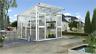 Vitavia Gewächshaus mit Pultdach Aphrodite 7800-11500 HKP 10mm, weiß