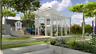 Vitavia Gewächshaus mit Pultdach Aphrodite 7800-11500  GLAS ESG/HKP 3/10mm, weiß