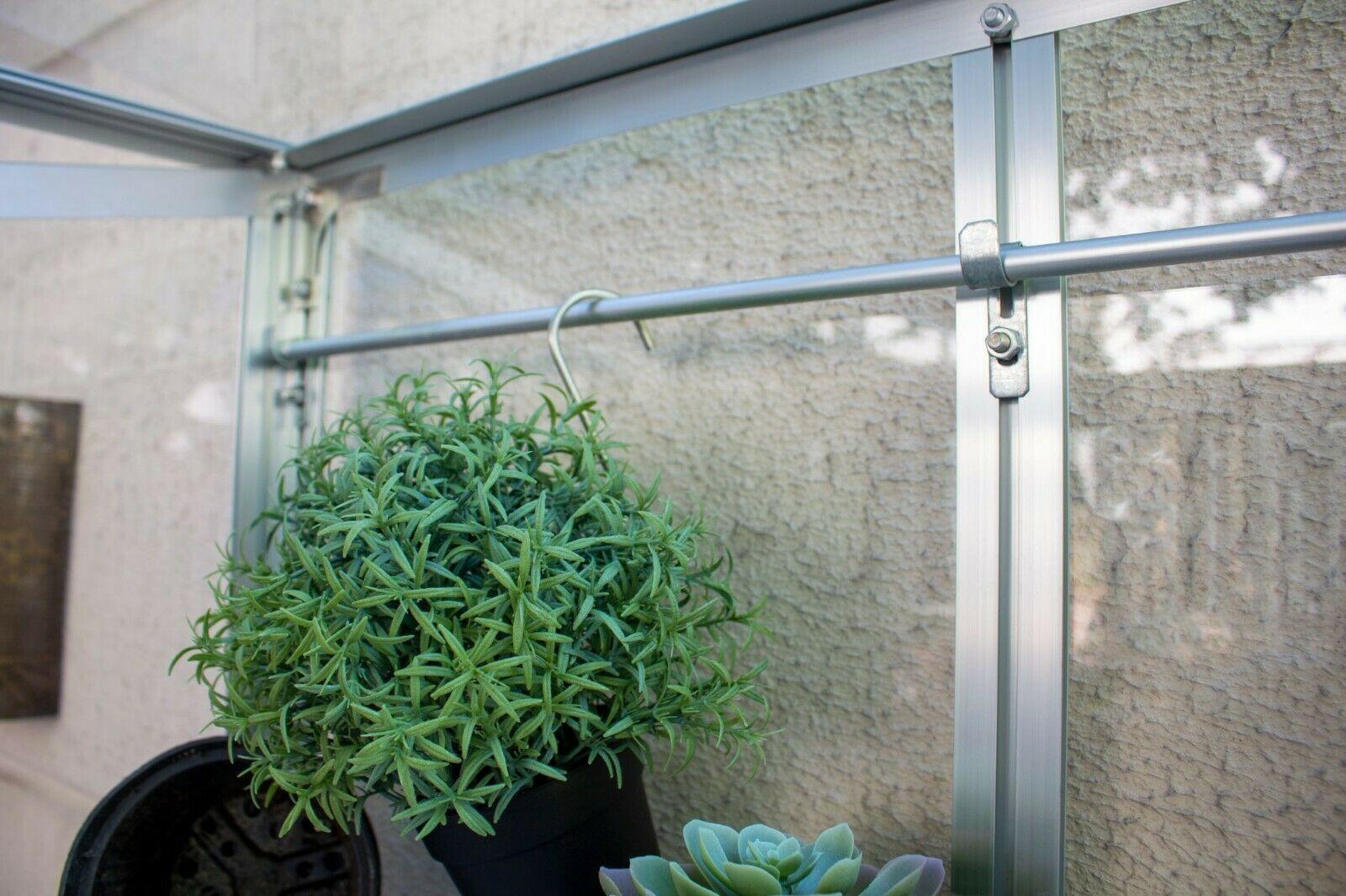 Vitavia Polis Balkongewächshaus 350 ESG - Balkon Gewächshaus